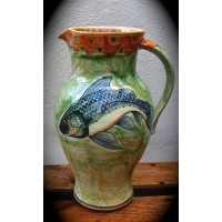 Fish Jug by Adrian Brough