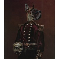 'Buster the Dane' A3 Limited Edition Print