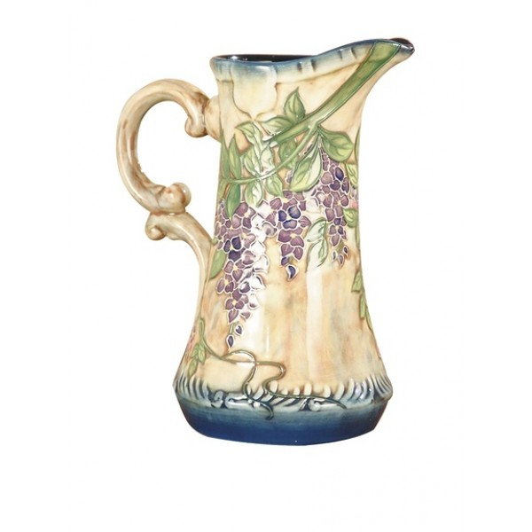 Dale Tiffany  Wisteria Jar, Multi - Antique Road show Collection (LAST PAIR NOW SOLD)
