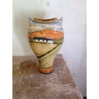 Small Cottage Vase by Adrian Brough