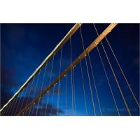 Clifton Suspension Bridge Structure, 5465 by Tony Howell