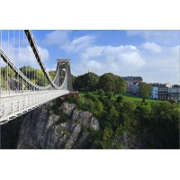 Clifton Suspension Bridge in Summer, 6831 by Tony Howell