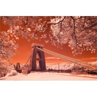 Clifton Suspension Bridge infra-red, 6846 by Tony Howell