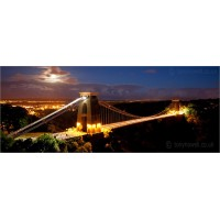 Clifton Suspension Bridge with Night, 5667 by Tony Howell