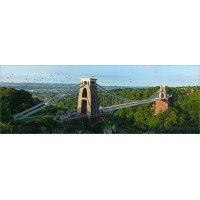 Clifton Suspension Bridge and Balloon Fiesta, 6203 by Tony Howell