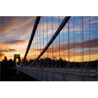 Clifton Suspension Bridge in Sunset, 8304 by Tony Howell