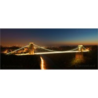 Clifton Suspension Bridge at Dusk, A7R61 by Tony Howell