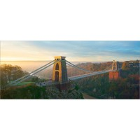 Clifton Suspension Bridge at Dawn, A7R63 by Tony Howell