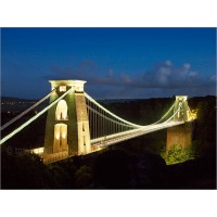 Clifton Suspension Bridge, Dusk Z189 by Tony Howell