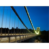 Clifton Suspension Bridge Dusk, Z187 by Tony Howell