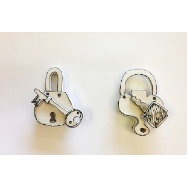 Katharine Morling, Single Padlock with key
