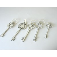 Katharine Morling, Single keys (5 different shapes)
