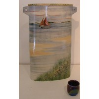 Large Sea and Garden Vase by Adrian Brough