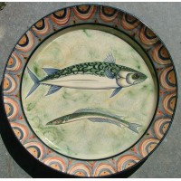 Mackerel and Sargasso Eel Charger by Adrian Brough