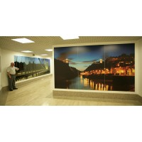 Corporate Art in a photographic media at the Mall, Cribbs Causeway, Bristol
