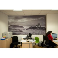 Corporate Art in a photographic media at Mayfair Estate Agents in W-S-M