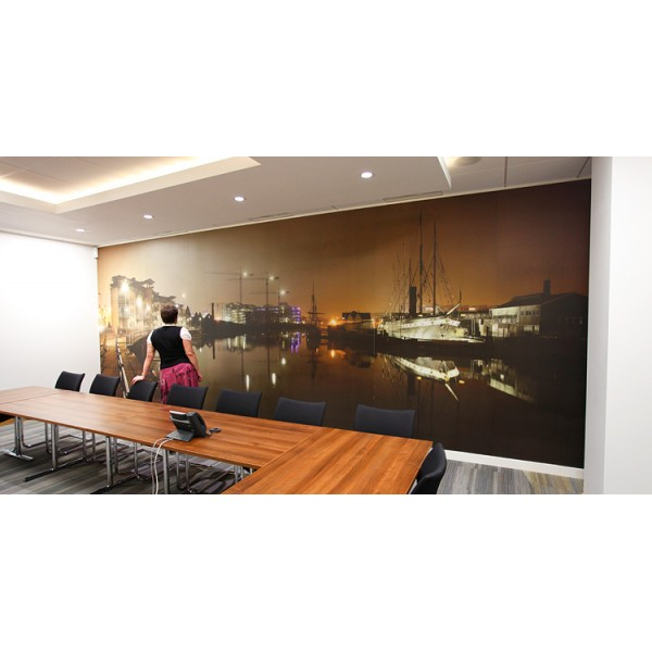 An Example of a corporate Art in a photographic media