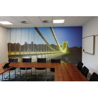 Corporate Art in a photographic media in a meeting room