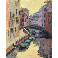 Midday on the canal by Stehanie Price