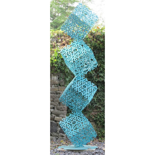 Arabesque (turquoise) by Pete Moorhouse