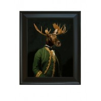 Framed Baron De Capreolinae Giclee on Archival Art Paper