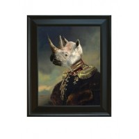 Framed Lord Voluntus De Gaulle  Giclee on Archival Art Paper