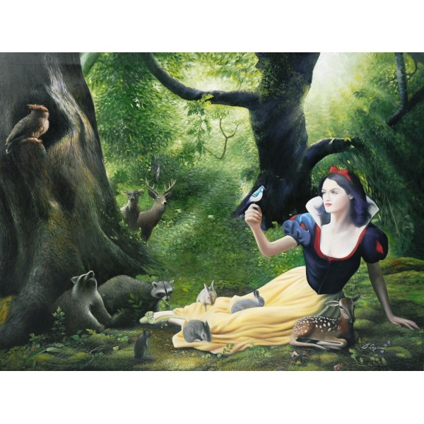 Snow White by Chana Ongiam