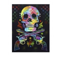 Dean Russo (Skull and Pistols) Signed Limited Edition Giclee on Canvas (With Bespoke Framing) NOW SOLD
