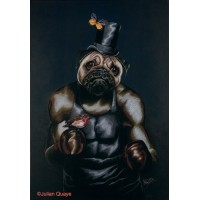 'The Contender' A3 Limited Edition Print